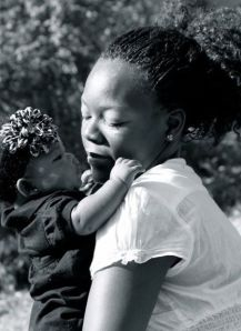 Abrielle and I (2 month pix)
